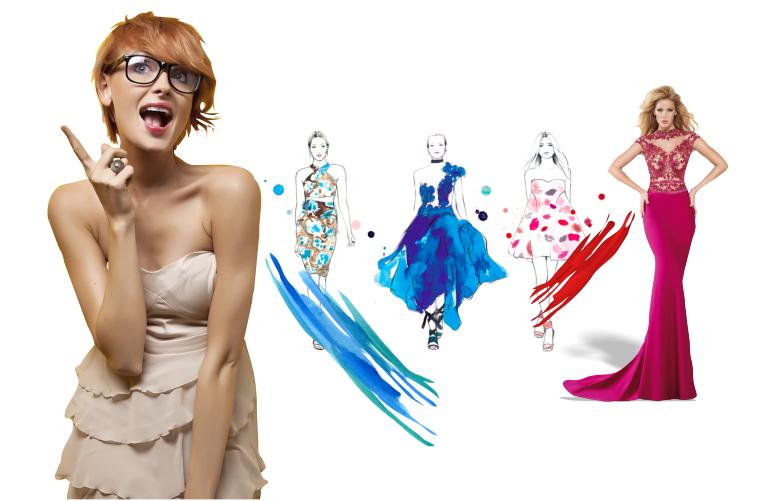 Diseñadora de moda Bina Boutique