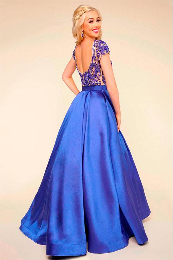 Nuevos modelos de vestidos de fiesta en renta Bina Boutique.