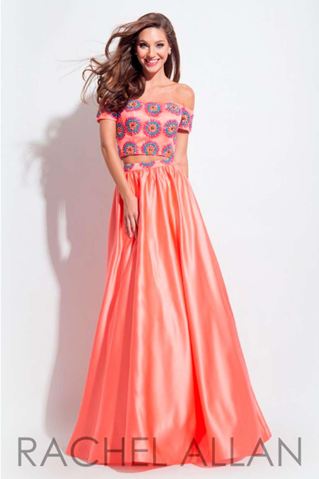 Hermosa Vestidos De Fiesta Coral Imágenes - Colección de Vestidos de ...