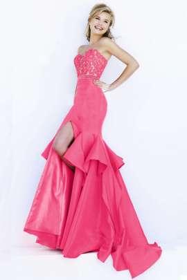 Vestidos de fiesta color rosa coral