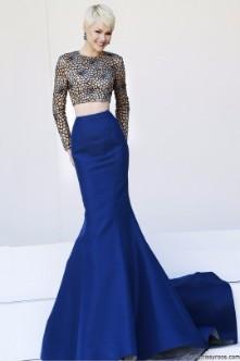 Imagenes de vestidos de noche de dos piezas