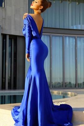 Vestido azul rey en monterrey